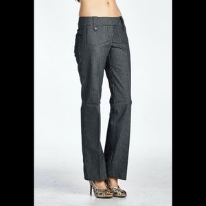 Women's Larry Levine Pinstripe Career Pants
